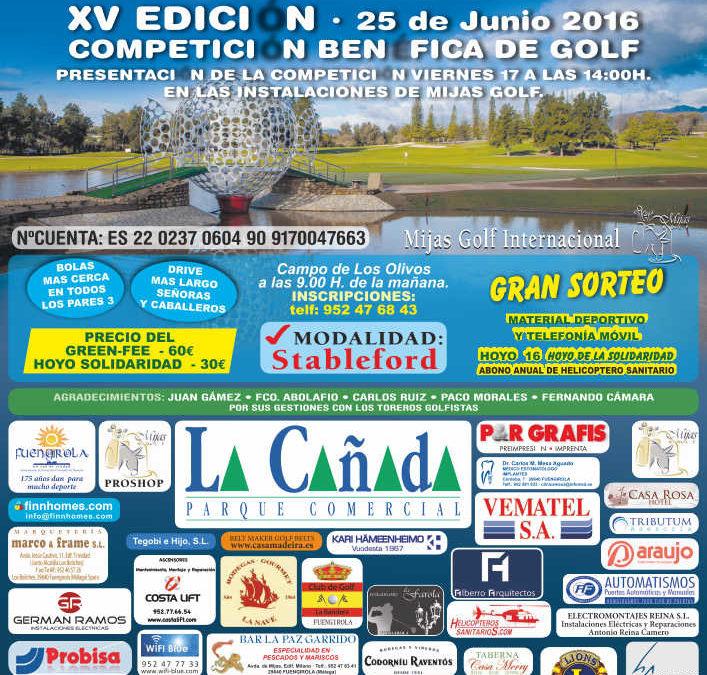 Cartel XV Edición Trofeo Coraje Solidario